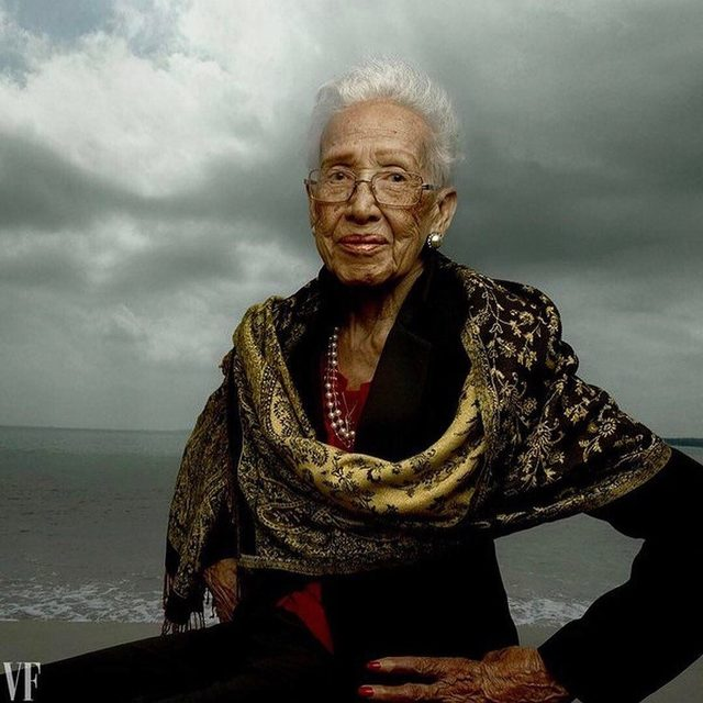 In 1969, @NASA's Katherine Johnson played a key role in the Apollo 11 moon landing—and as a female African-American in the 1960s—shattered stereotypes in the process. Revisit the mathematician's groundbreaking career at the link in bio. Photograph by Annie Leibovitz.