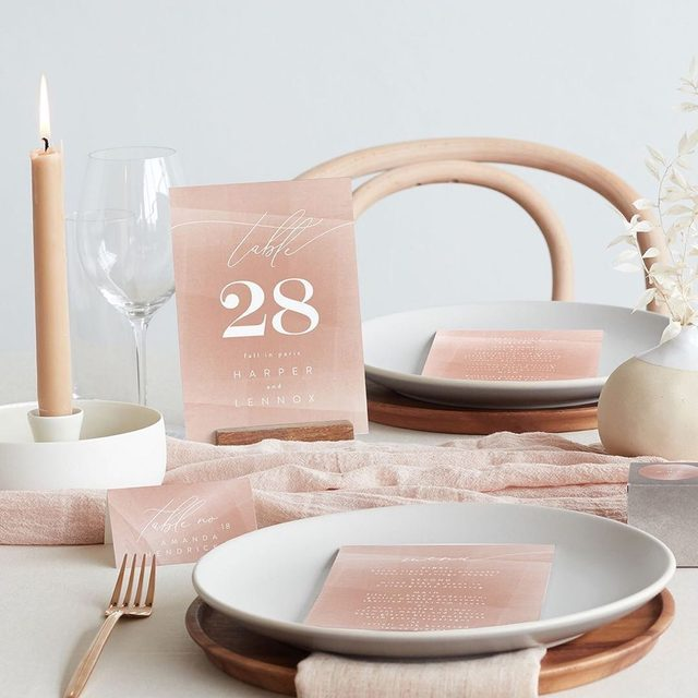 "Perfectly imperfect wedding trends. Meet Wabi Sabi: an elegant, Japanese-inspired style featuring free-flowing textures and asymmetrical details—now available for your big day with coordinating designs from independent artists. Shop more day-of trends via our Stories. #MintedWeddings — ""Plain Paint"" wedding design @phrosneras. • • • • • #engaged #weddingideas #weddinginspiration #weddingdetails #weddingphotography #weddingplanning #weddingflatlay #justengaged #thatsdarling #pursuepretty #theknot #sayido #howtheyasked #weddinginvitation #weddingreception #weddingdayof #savethedate #weddinggoals #weddingseason #springwedding #summerwedding #destinationwedding #design #style #art #diy #wedding"