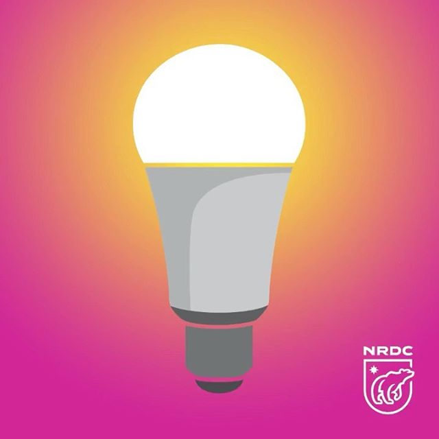 Want a simple way to boost your home's energy efficiency? 💡 Swap your light bulbs. LED light bulbs last at least 10,000 hours—and save massive amounts of energy. 👍 Click the link in our profile for more information on shopping for LEDs.  #energyefficiency #led #energy #climate #sustainability