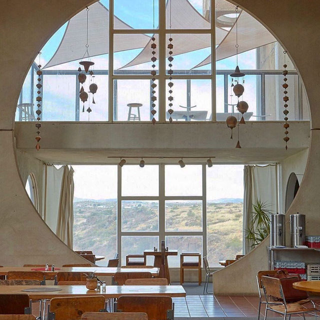 On Location: Arcosanti This artful space parallels our efforts to be more conscious with our fabric choices—to do more with less. Fewer, Better is a philosphy that extends far beyond the wardrobe, which is why Arcosanti's practical yet beautiful environment inspired us as our fall shoot location.