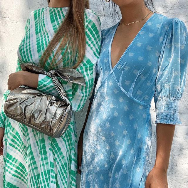 Cool-down colors: mint & aqua 💦