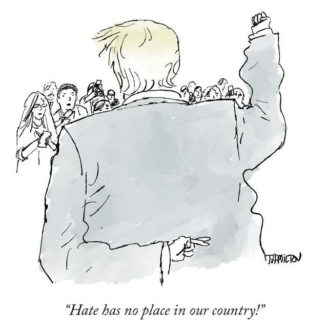 Today's Daily Cartoon, by @t.j.hamilton. #TNYcartoons