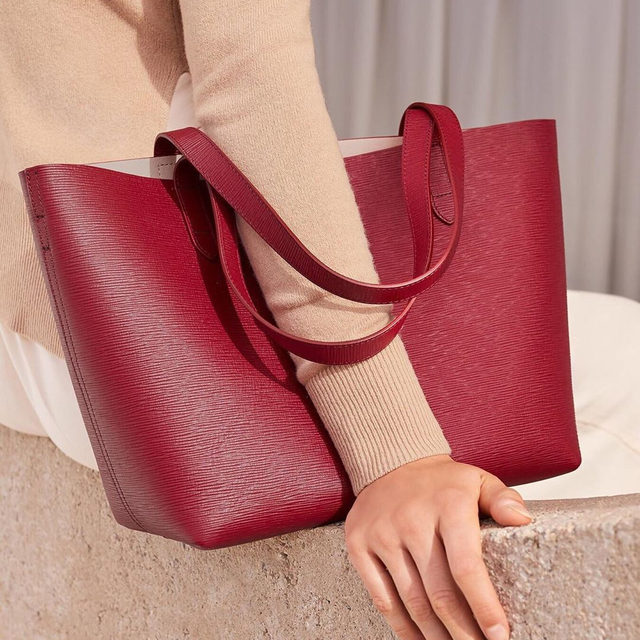 New in our August Collection: The Small Structured Tote. An updated take on one of our foundational favorites, featured in new fall hues. Coming tomorrow.