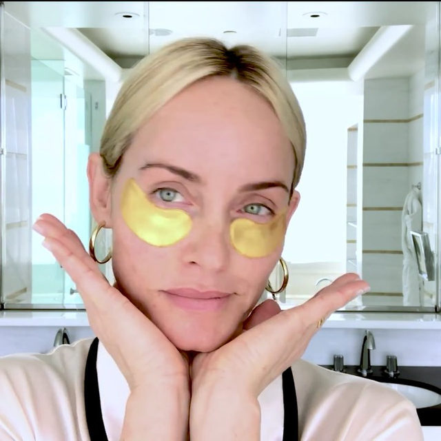 @ambervalletta has walked her fair share of runway shows over the years, and the biggest names in beauty have prepped her face countless times backstage. Along the way, she's picked up a few trade secrets; tap the link in our bio to learn them.  Director @rebeccafourteau  Filmed at @waldorfbevhills
