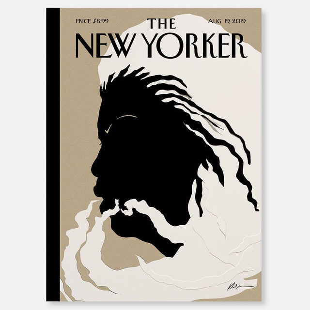"""An early look at next week's cover, featuring Toni Morrison: """"Quiet As It's Kept,"""" by Kara Walker. #TNYcovers"""