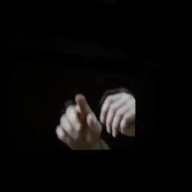 "Douglas Gordon's ""Feature Film"" (1999) is on view through September 1 at The Tanks at the Tate Modern in London.  The film focuses intimately on the hands and facial gestures of conductor James Conlon while he conducts the orchestra of the Opéra National de Paris in performing the haunting soundtrack of Alfred Hitchcock's ""Vertigo"" (1958). Learn more via the link in our bio. __________ #DouglasGordon #TateModern #Gagosian @tate #Repost: @saulius_v"