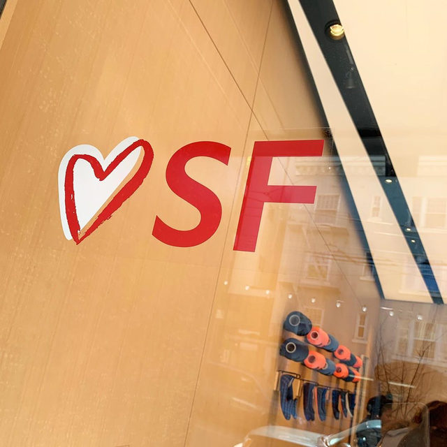 Hey, SF! Need weekend plans? Come check out our store. Not in SF? Head over to our stories for a peek inside the Fillmore store. 📍2448 Fillmore St.
