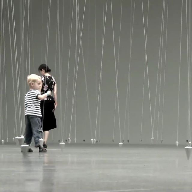 "#MoveMFAH: Explore William Forsythe's immersive installation ""Choreographic Objects,"" on view at the Museum of Fine Arts in Houston, today!  Blurring the lines between performance, sculpture, video, and installation, ""William Forsythe: Choreographic Objects"" invites you to connect to the organizing principles of choreography. Find out more via the link in our bio! __________ #WilliamForsythe #Gagosian #MFAHouston @william_forsythe #Repost @mfahouston"