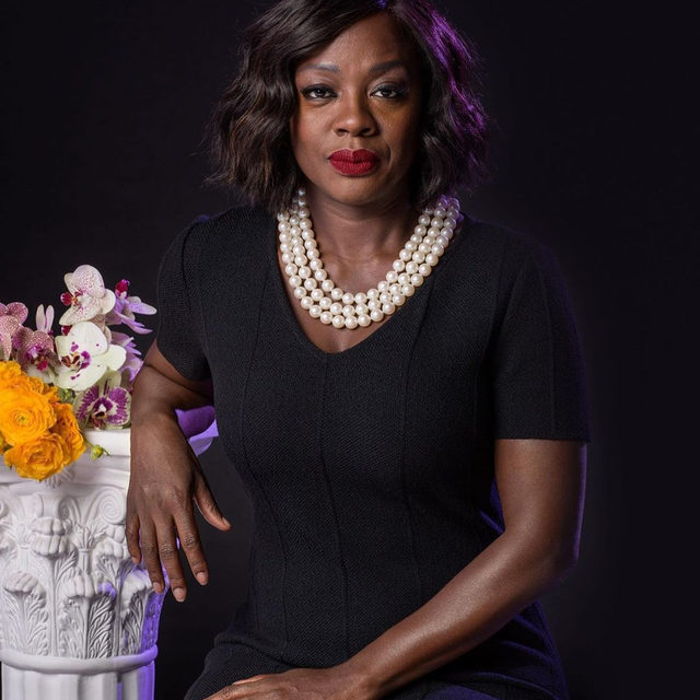 """Viola Davis, who turns 54 today, sees acting as exposure: """"I see it as stepping up buck naked in front of a group of people that you don't know. Every single time."""" Tap the link in our bio to revisit our 2016 Profile of the celebrated actress, who reflects on her iconic roles, her difficult past, and her impact on the film industry. Photograph by Awol Erizku for The New Yorker."""