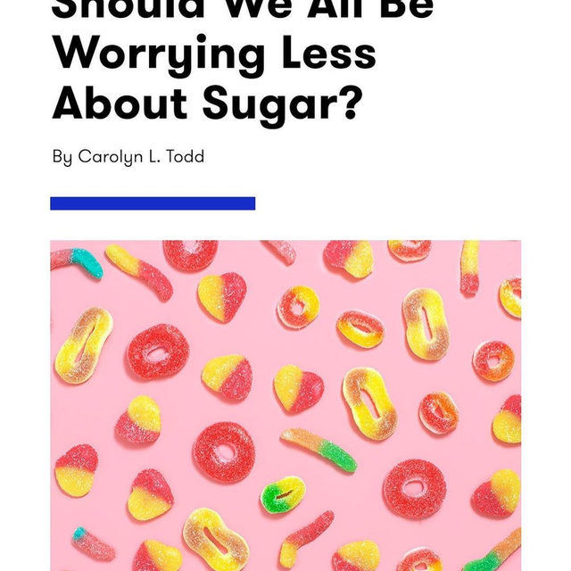 While demonizing any single food group or nutrient is always more harmful than helpful, it's also true that average sugar intake is a real public health concern. But just how much do you need to *actually* worry about it on the day-to-day? Find out at the link in bio.