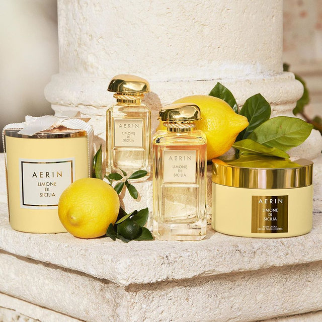 I love the Limone di Sicilia Collection... A new citrus fragrance that reminds me of the perfect sunny day #AERINbeauty