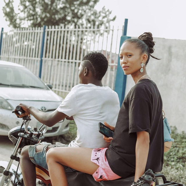 """""""[Nigeria] is the land of great music, food, art, and cultural traditions. Traditions that have played a huge part in my love of color, art, and vibrant prints,"""" @adesamuel says. Tap the link in our bio to see the city's rich design scene through Samuel's eyes, from heading to Lekki Art Market to shop for objets d'art to riding around town with @adesuwa. Photo by @mako_od"""