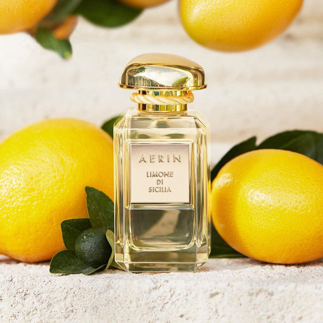 Limone di Sicilia is pure radiance... Discover our newest #AERINbeauty fragrance now available on AERIN.com... Link in bio