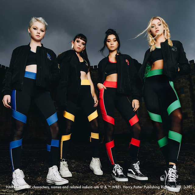 The School's Out! lookbook is here! Head to our website to check it out! #HarryPotter #blackmilkclothing #blackmilkactive
