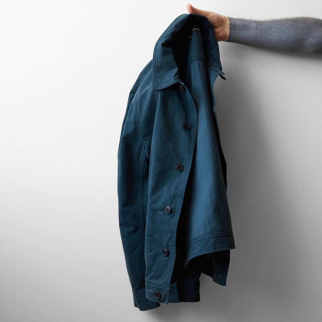 This utility-inspired shirt jacket is also garment dyed, a special wash process that adds extra softness and a color-washed look.