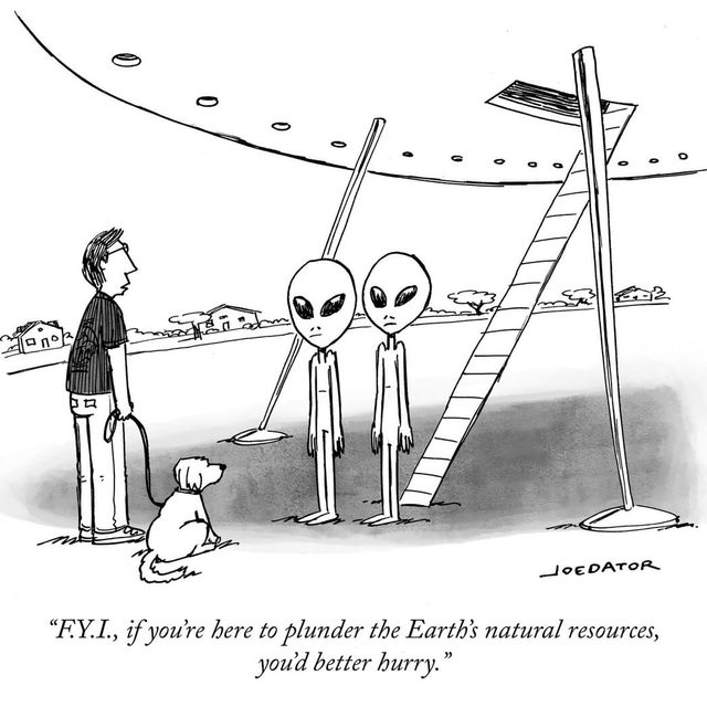 """""""It's called a climate crisis, in case you haven't already heard."""" #TNYcartoons"""