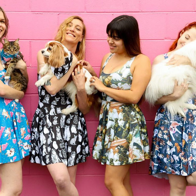 Get these purrrfect pieces for Fun Times Friday now! Plus score a matching bandana for your best fur friend (or totally rock it yourself 😉) Available until 12pm AEST Monday August 19. Hit the bio link to shop! #blackmilk #blackmilkclothing