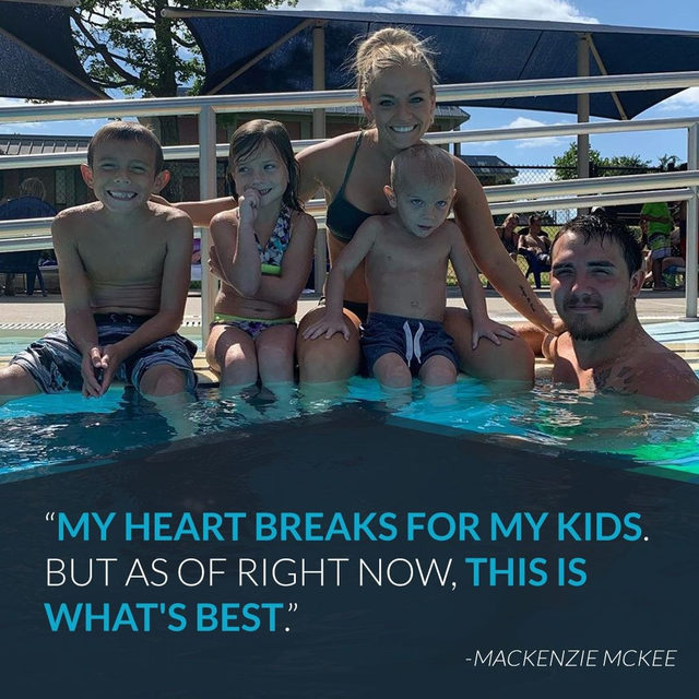"#TeenMom's Mackenzie McKee is saying she's ""freshly single"" after her husband denied cheating on her. Link in bio for the details. (📷: Instagram)"