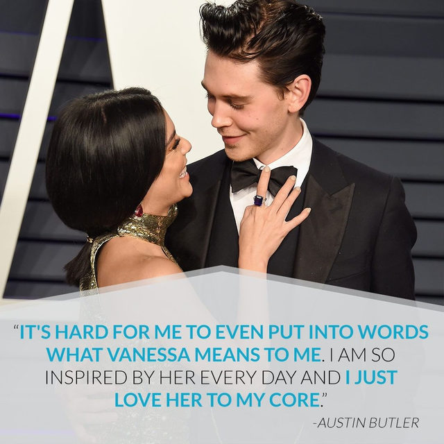 ❤️ 8 years later and Vanessa Hudgens & Austin Butler are more in love than ever. Link in bio because we could all use some happy couple news right about now. (📷: Getty Images)
