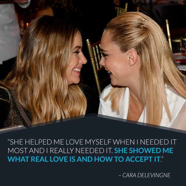 It might be a paper town, with paper houses and paper people, but Cara Delevingne and Ashley Benson's love is real. Link in bio to go inside their unexpected love story. (📷: Getty Images)