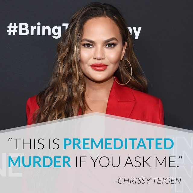 Chrissy Teigen is laying down the law after she got a crazy reaction from altitude sickness while flying to Utah. Link in bio to see the pictures of her swollen lips. (📷: Getty Images)