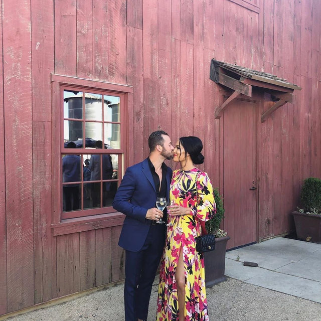 "Nikki Bella and Artem Chigvintsev are beginning a new journey together with #TotalBellas: ""I'm thankful for him to showcase his life, love, ups and downs."" Link in bio for the details! (📷: @thenikkibella)"