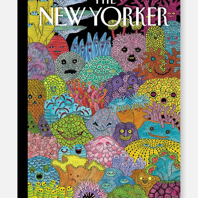 """This week's cover, """"Sea Changes,"""" by Edward Steed. #TNYcovers"""