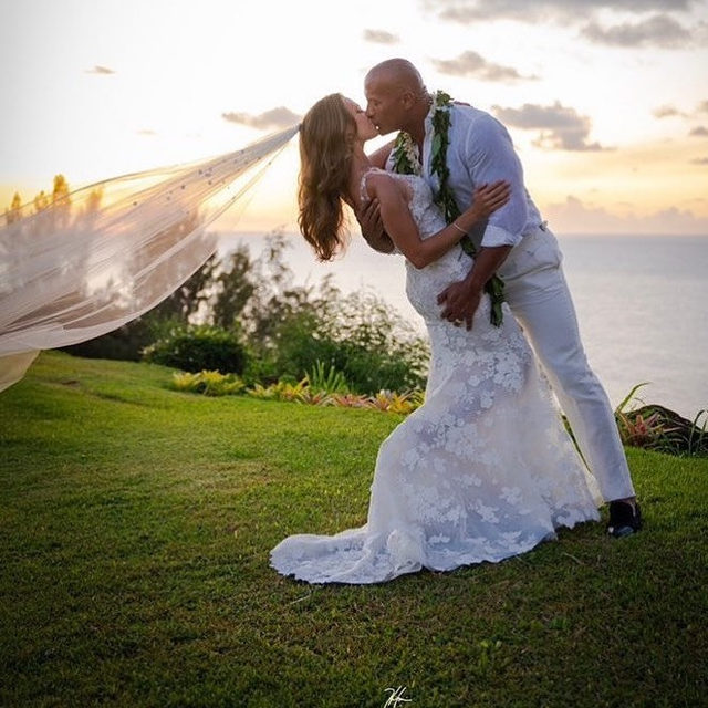"1. Dwayne ""The Rock"" Johnson got married yesterday!! 2. This sunset pic is GOALS.  3. We're so sorry to everyone who thought they were going to marry him one day. Head to the link in bio for the deets on their big day! (📷: @therock)"