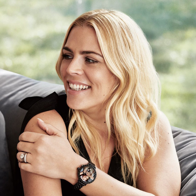 just the thing for busy ladies. @busyphilipps and our new scallop smartwatch 2. #katespade #loveinspades