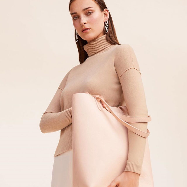A Restorative Palette.  Neutrals exist harmoniously with us—subtle and reliable. They are trusted companions in every woman's wardrobe. Link in bio for our newest edit: Neutral Alliance.