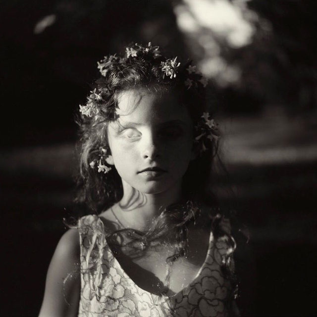 "Featuring work by Sally Mann, ""Go Down Moses"" is on view at the Museum of Contemporary Photography at Columbia College in Chicago!  The exhibition presents a reinterpretation of the museum's permanent collection that can be understood as a visual poem of contemporary America, exploring elemental themes of movement, chaos, freedom, and hope through the photographic archive. Learn more via the link in our bio. __________ #SallyMann #GoDownMoCP #Gagosian @mocpchi @a_thousand_crossings Sally Mann, ""Eyeless in Coalto,"" 1993 © Sally Mann"