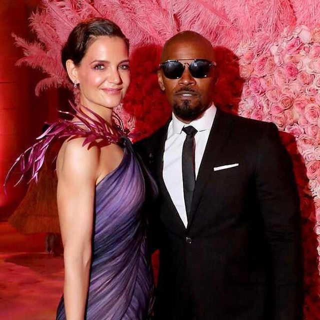 BREAKING: We're in tears and you can blame it on this b b b b breakup. 💔 Link in bio for everything we know about Katie Holmes and Jamie Foxx's split after 6 years. (📷: Getty Images)