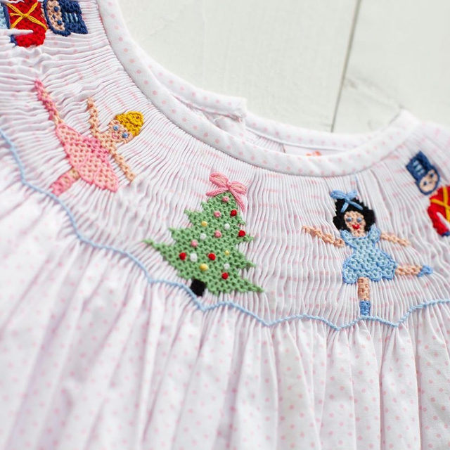The sweetest smocks around.. we have you covered for the holidays with our Nutcracker Collection! 🎄