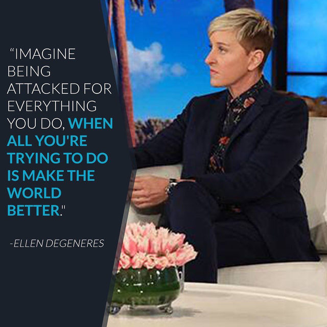 Uh-uh, you know things are bad when Ellen claps back. Take a private jet to the link in our bio to learn why she says people need to leave Prince Harry and Meghan Markle alone.