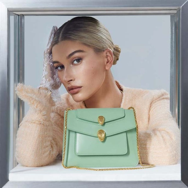 """This month, @alexanderwangny reimagines @bulgariofficial's Serpenti Forever Bag as part of the 135-year-old house's ongoing """"Serpenti Through the Eyes Of """" series of capsule collections. """"I found the original snake-head piece from the 1960s in the Bvlgari archives,"""" the designer says. """"It was a nod to the sinful woman, and that was something I could relate to. I always think about a thrill-seeker when I design."""" Tap the link in our bio for all details."""