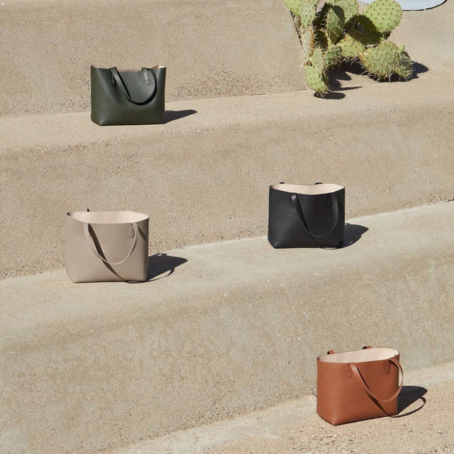 New size. New colors.  Our Small Structured tote is here—the perfect piece for carrying your everyday items with ease. Featuring our newest hue, Forest Green, coming in September.