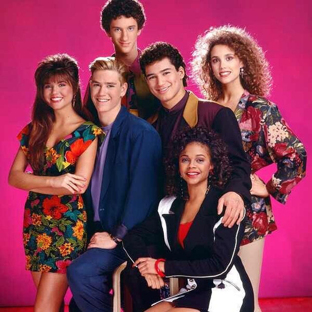 The best thing about high school: Once you graduate, you don't have to come back, but we're revisiting 30 shocking #SavedBytheBell secrets 30 years later, including the romantic drama between the cast. Link in bio.