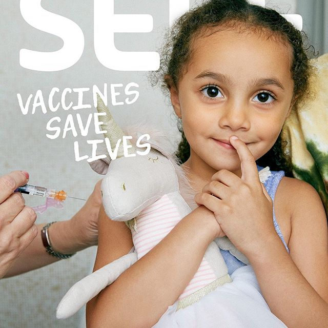 We're proud to announce the launch of our latest editorial project, #VaccinesSaveLives. Vaccination prevents 2 to 3 million deaths globally every year, according to the World Health Organization (@WHO). But vaccination rates are dropping in some pockets of the world, including the United States, thanks in part to the growing trend of vaccine hesitancy, which the WHO listed as one of the top ten threats to global health in 2019. ⠀⠀⠀⠀⠀⠀⠀⠀⠀⠀⠀⠀⠀⠀⠀⠀⠀⠀ Because of vaccines, we're able to protect against serious and sometimes fatal illnesses, from the flu, chickenpox, and whooping cough, to measles, polio, and HPV, which can cause several forms of cancer. When enough people in a community get vaccinated, we're even able to create herd immunity, which offers protection for those who cannot get vaccinated themselves, like babies and people with compromised immune systems. ⠀⠀⠀⠀⠀⠀⠀⠀⠀⠀⠀⠀⠀⠀⠀⠀⠀⠀ As a health brand, it's our job to talk about these issues in a way that is accurate, empathetic, and responsible. We know that th