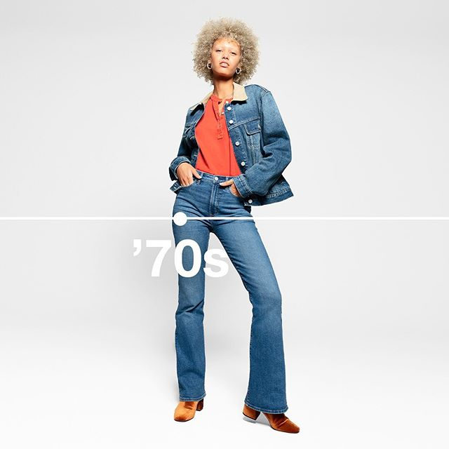 '70s flare. Right-now flair. An all-time favorite, part of our new limited-edition collection celebrating 50 years of denim. Tap to shop. #GapDenim