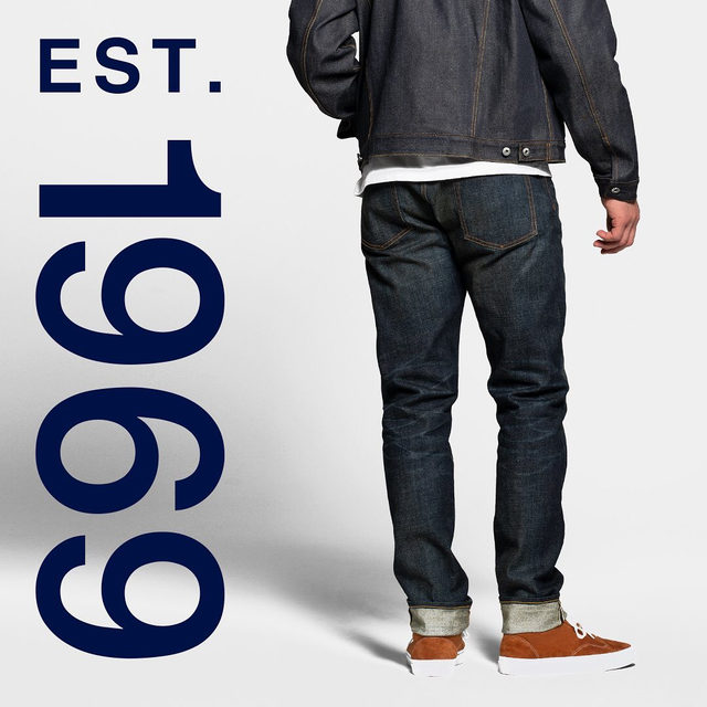 Introducing our new 1969 Premium denim. With an authentic Japanese Selvedge edge and details made to last. Hands down, the best denim out there. Tap to shop the look. #GapDenim