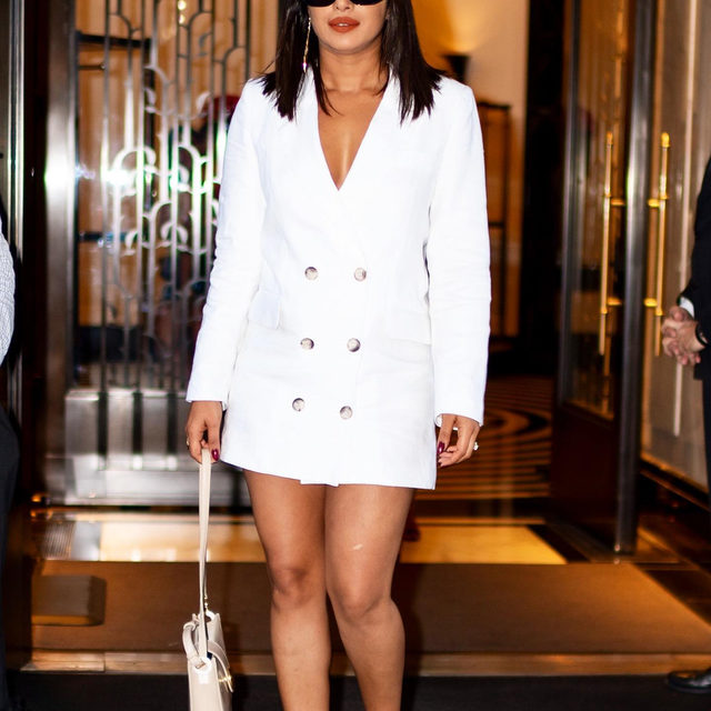 A late-summer, wallet-friendly dress that has celeb approval—yes, please. Tap our link for the dresses @priyankachopra and @oliviapalermo wore this week that we'll most definitely be buying.  photo: getty images