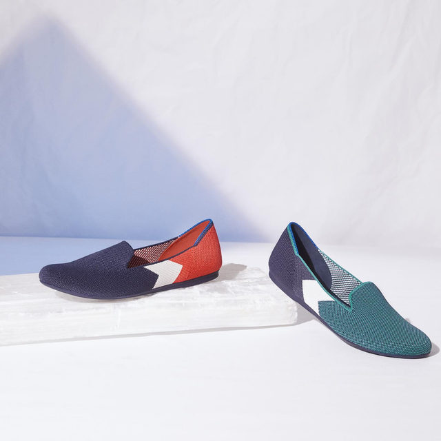 Add some prep to your step with our new color block loafers.