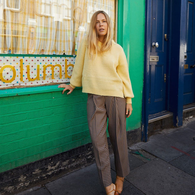 @wearethepeoplestyle in our Cortney knit 💛 a #BaumxSelfridges exclusive style . Discover this and more in our brand new London pop-up. Open in @theofficialselfridges until October 14th 🇬🇧🇬🇧 . 📷 : @petra_kleis #BaumFamily #BaumundPferdgarten