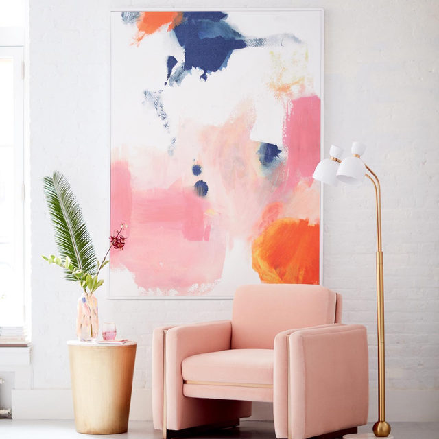 We'll take more than a wink of pink 😉(link in profile to shop the Wren Chair)