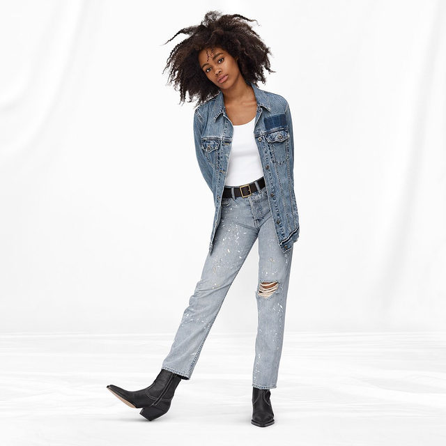 Washed down, worn in, well loved from the start. That's #GapDenim. Tap to shop our new 1969 Premium collection made with authentic Japanese denim.