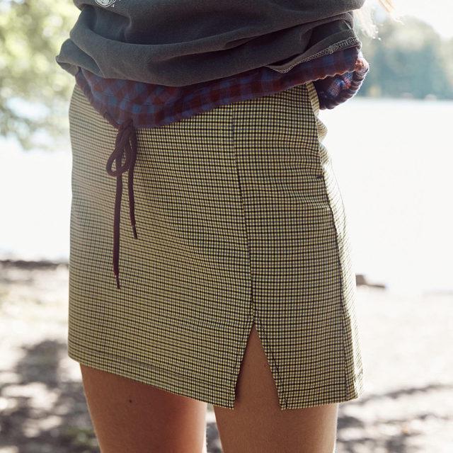Mini skirt, big impact. #UOonYou