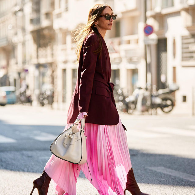 No fall staple gets us excited like a good fall dress. From floor-sweeping maxis to cozy knit sweater dresses, tap our link for the most popular dress styles we're seeing right now. photo: @thestylestalkercom