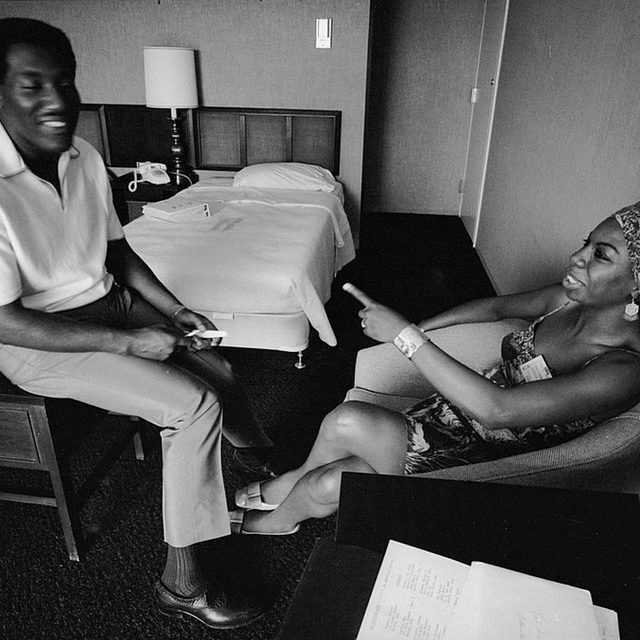 54 years ago today, Otis Redding released Otis Blue, arguably the 1960s' greatest studio-recorded soul. Read the perfect 10 review in the link in our bio. — 📷 of Otis Redding and Nina Simone by Vernon Merritt III/The LIFE Images Collection via Getty Images