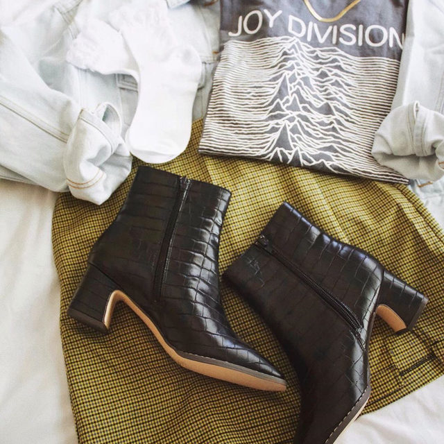 Get to know the Kate Croc Boot. You'll be wearing a lot of it this fall. #UOonYou @UOLosAngeles @boldaslauren