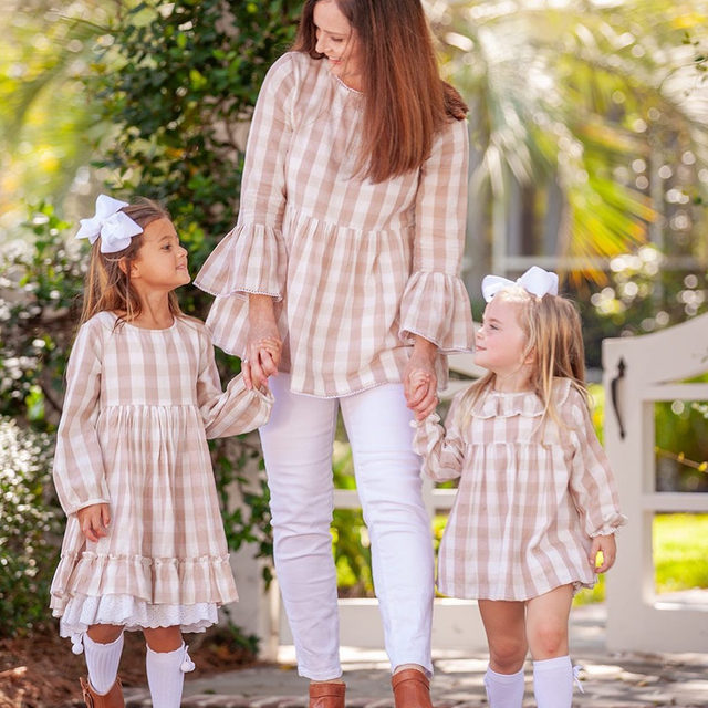 We are so excited about these mommy and me coordinating outfits coming soon by @EllaGrayDesigns ! Mark your calendar: 9/24. {don't worry.. there is a boy option, too!}